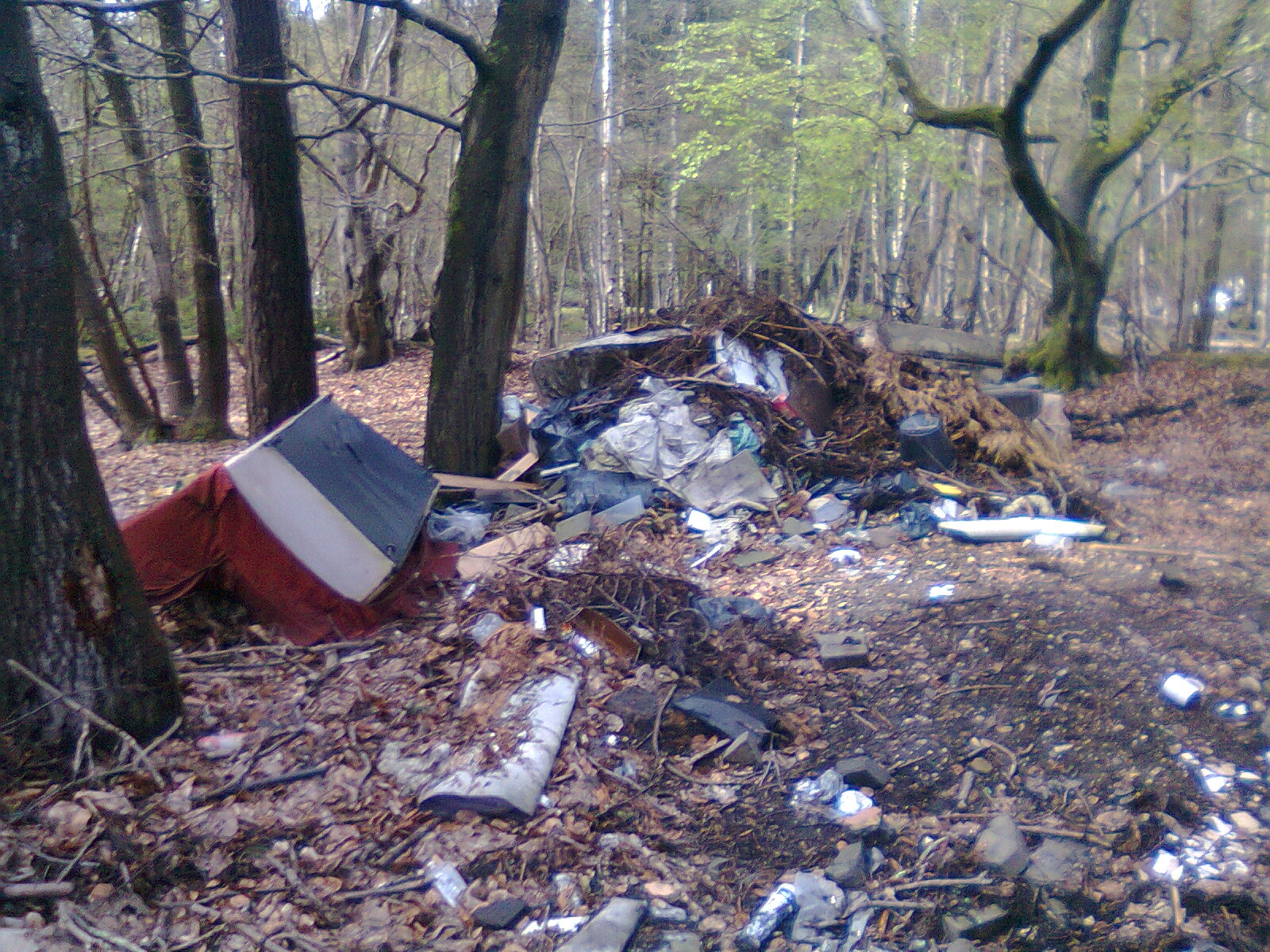 Fly tipping collection & removal service, London, Oxford, Chichester, from RJS Waste Management UK Ltd