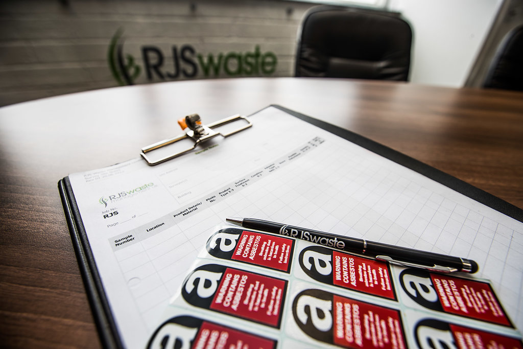 Asbestos surveys, asbestos testing, RJS waste Oxford, London Chichester & nationwide