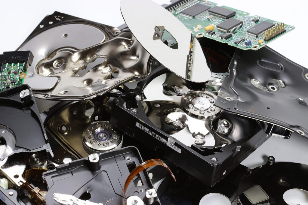 Secure data destruction in line with the Data Protection Act