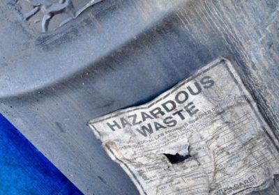 Hazardous Waste storage drum
