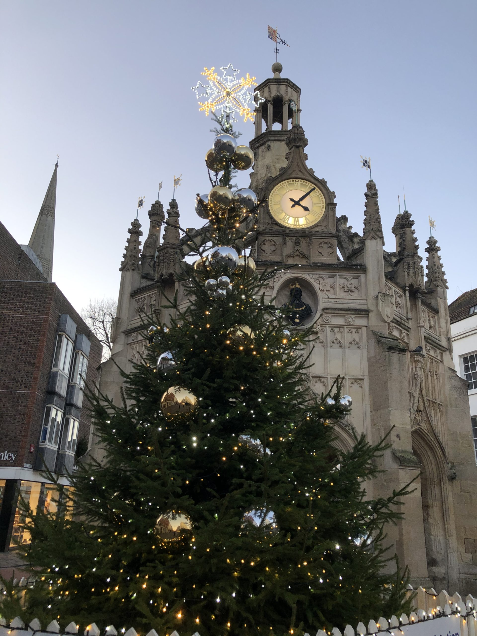 Chichester Cross Christmas Tree