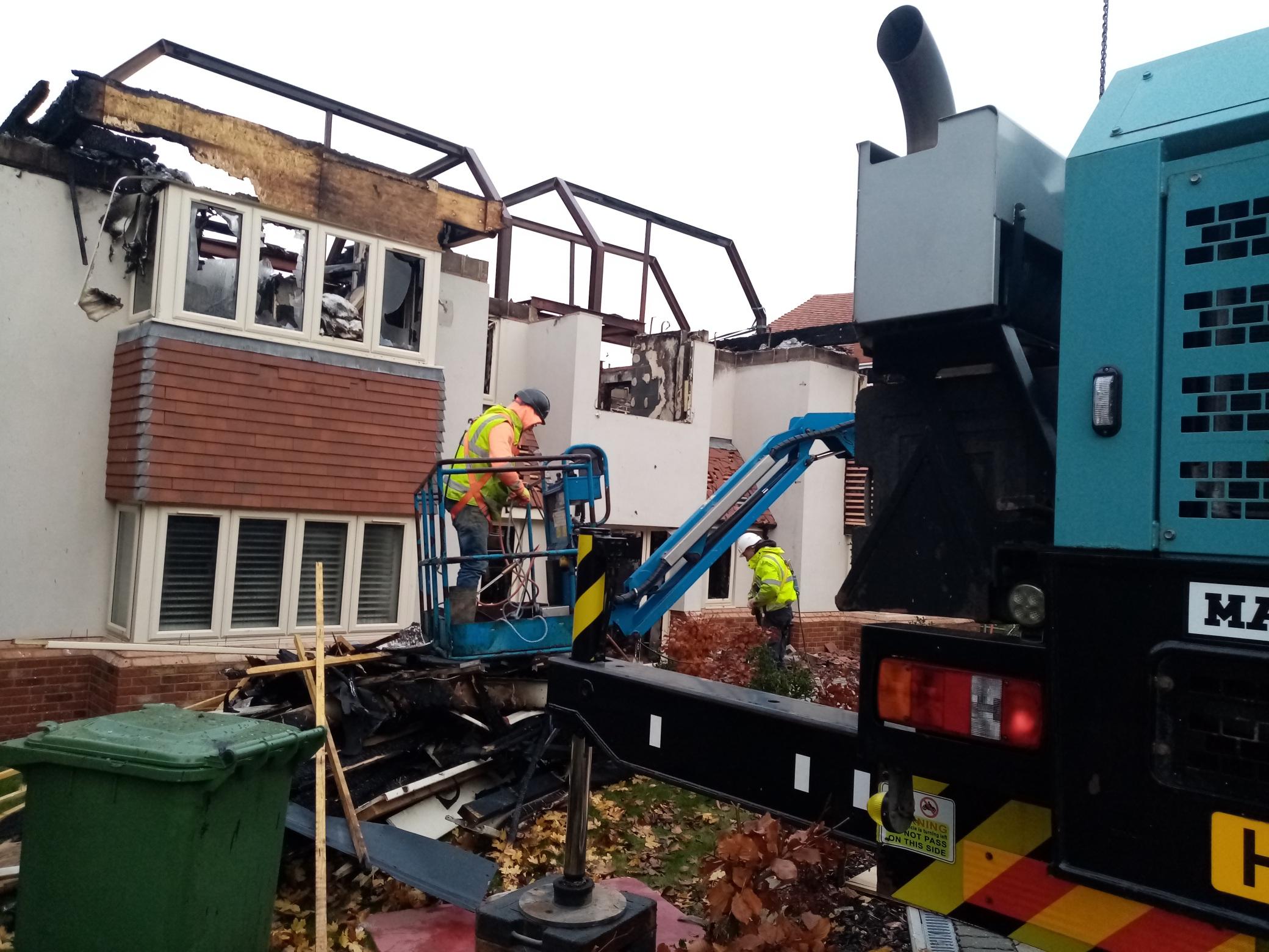 Winchester domestic building demolition