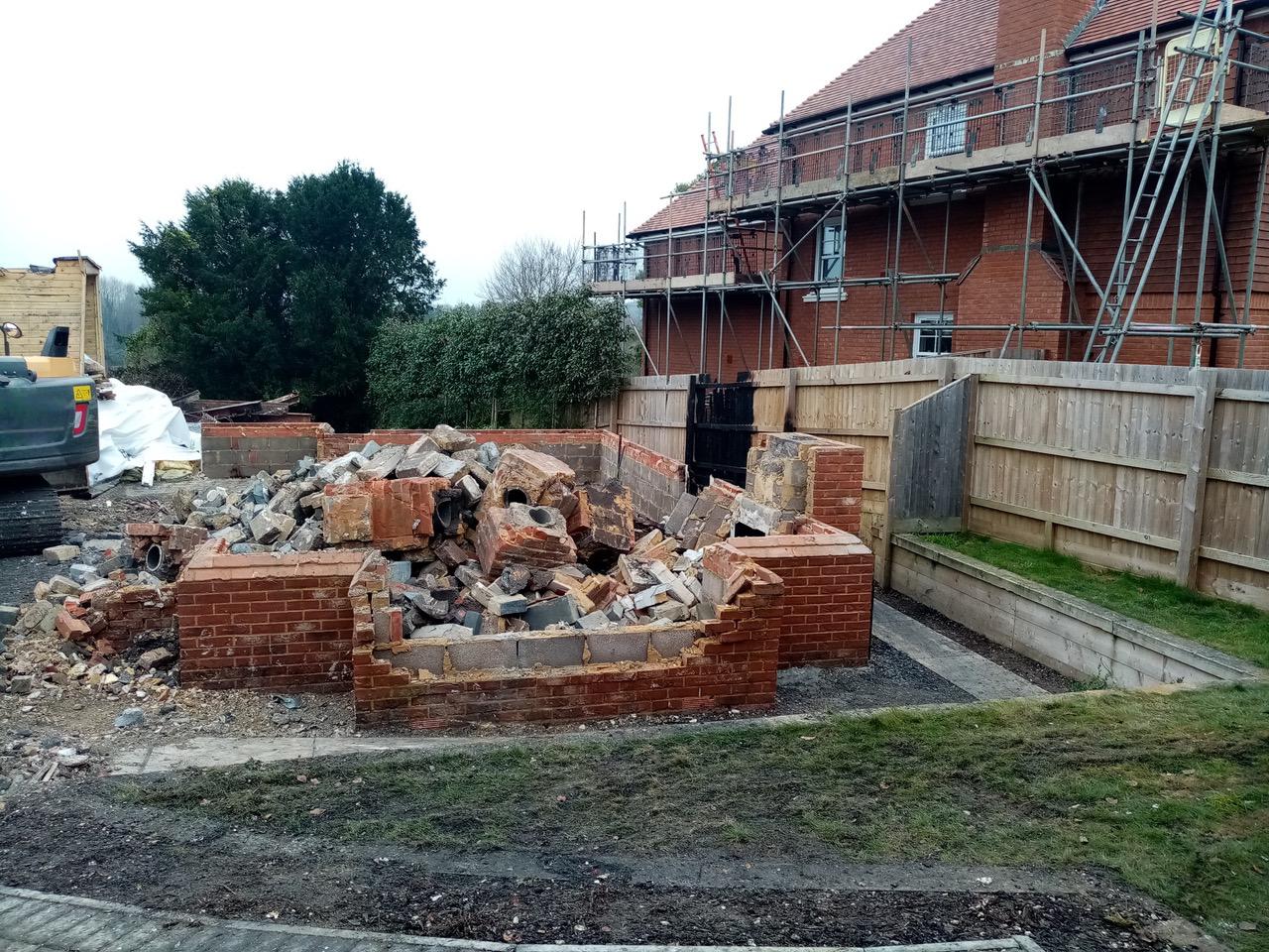 Building Demolition by RJS Waste Management