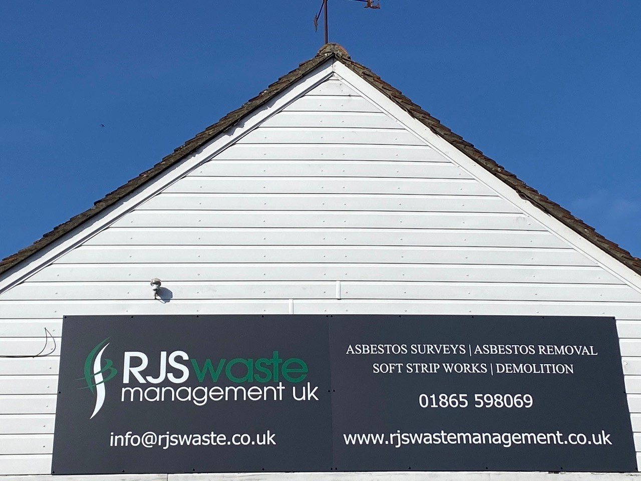 RJS Waste Management Oxford office