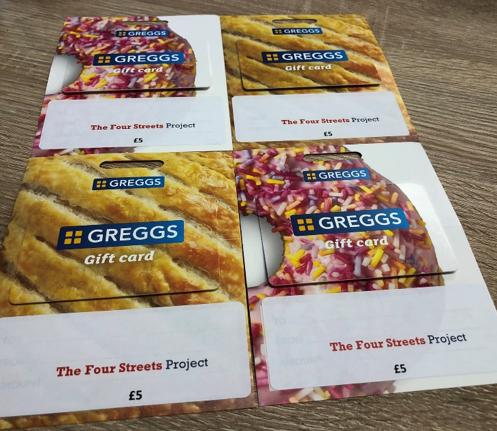 Gregg's vouchers