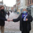 RJS Waste Management's Jon meets Donna from The Four Streets Project in Chichester