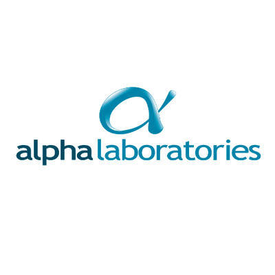 RJS Waste Management Alpha Laboratories logo