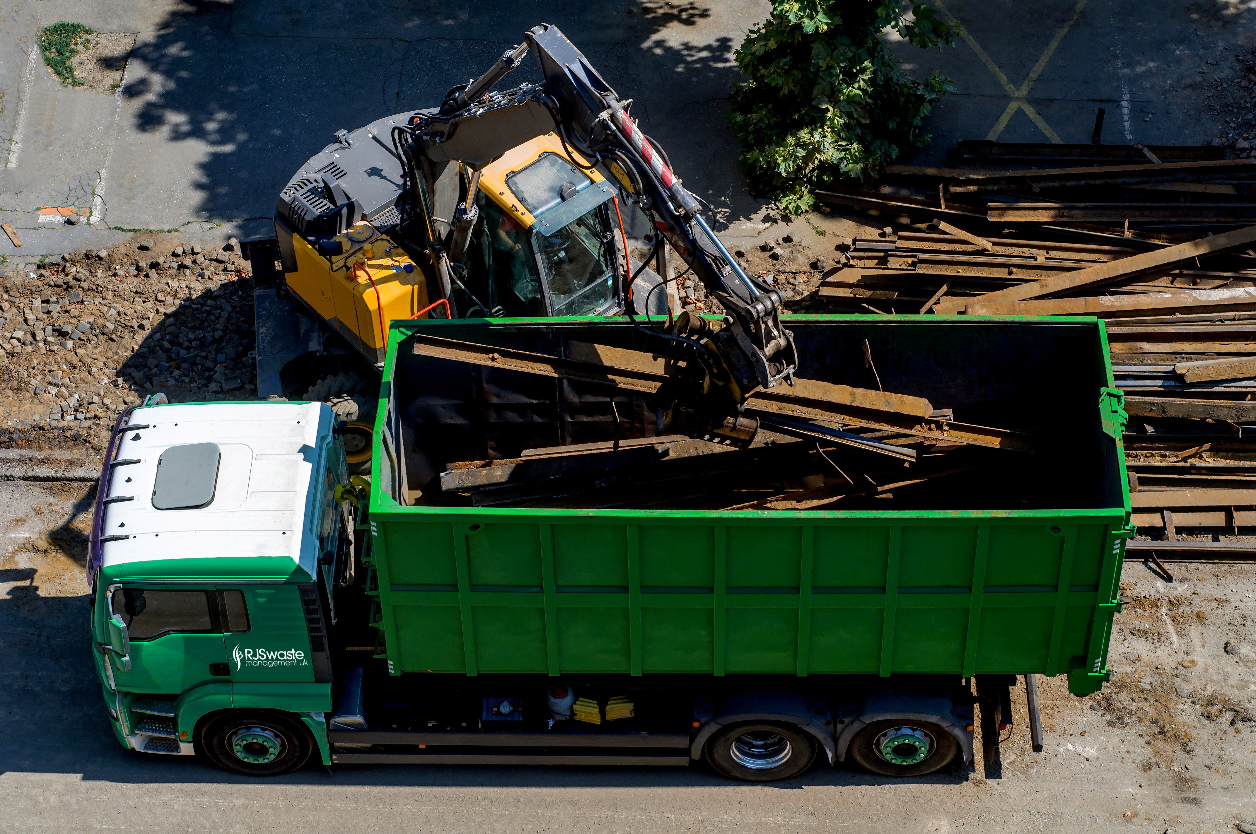 Waste management services from RJS include waste removal and waste disposal