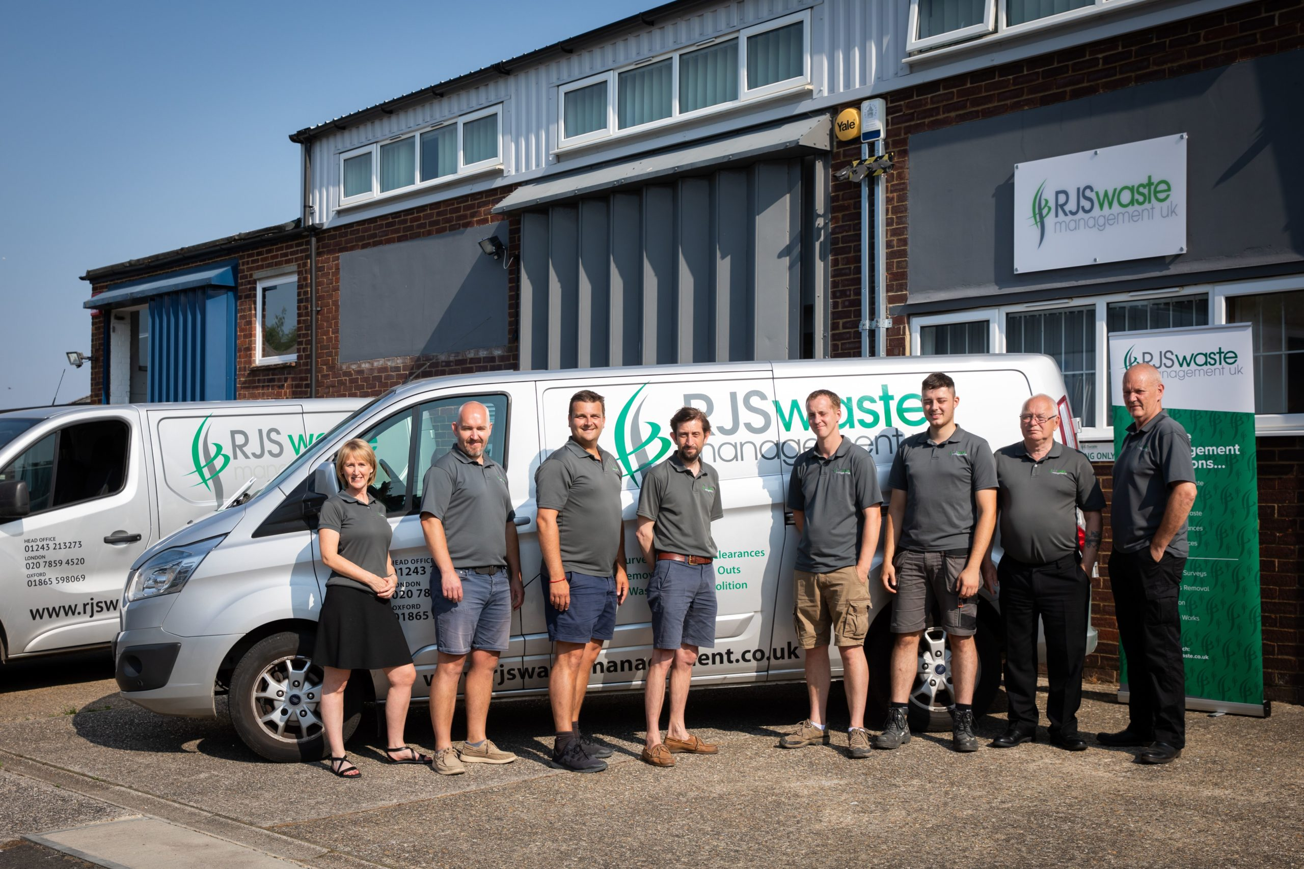 Our expert managed waste services team