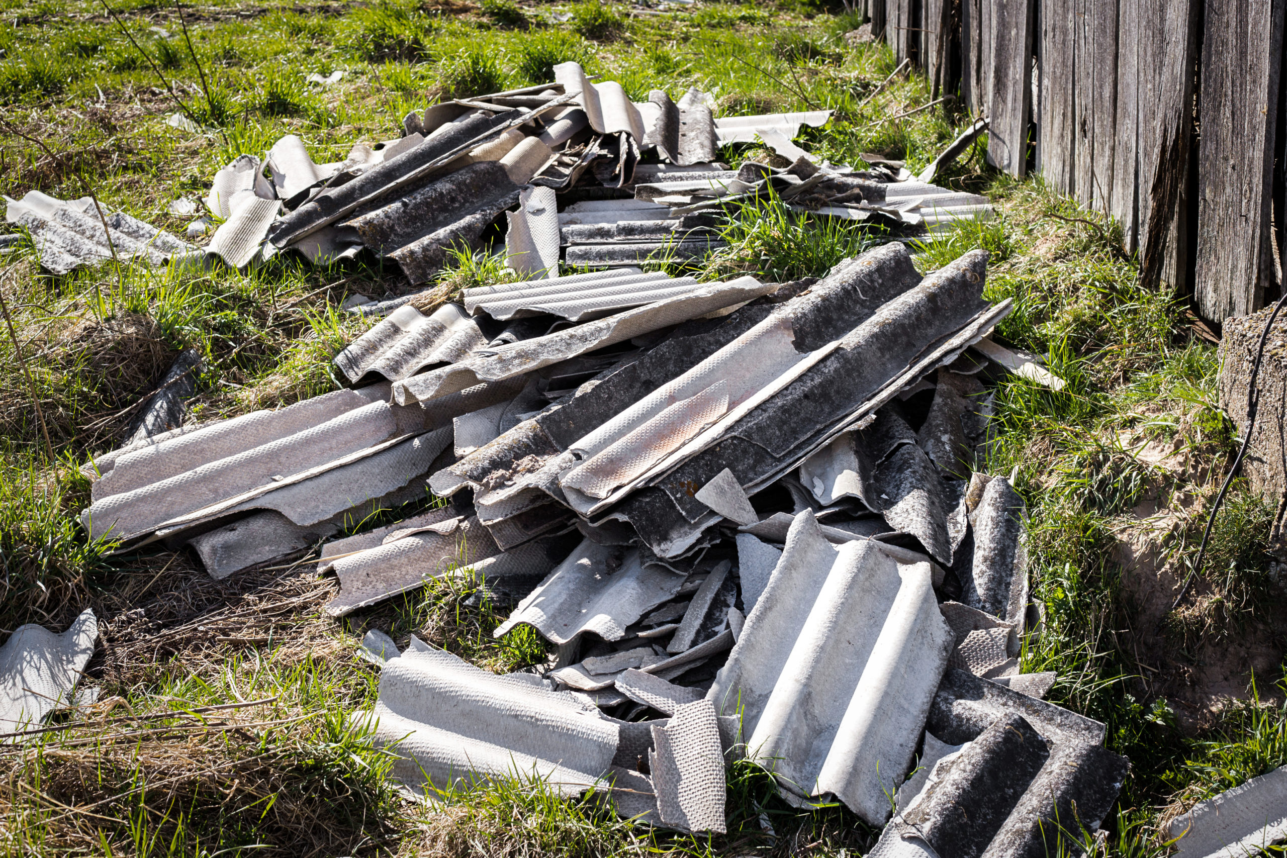 Asbestos waste discovered at asbestos surveys and removals